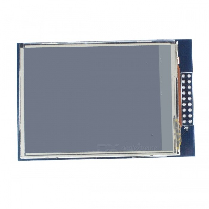 2.8 TFT LCD Touch Shield Module for Arduino - Blue 2 8 tft lcd touch shield module for arduino silver blue black