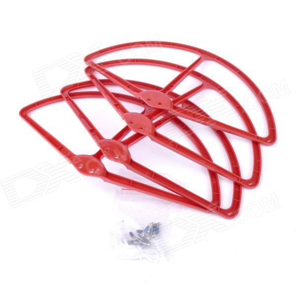 DJI Phantom Vision 2 Propeller Prop Protective Guard Protector - Red (4 PCS) 4pcs protective guard protective cover for dji phantom 4