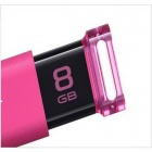 Genuine Sony 8GB Micro Vault Click USB 3.0 Flash Drive USM8GU - Pink