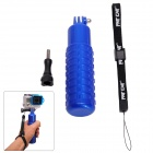 Fat Cat Anti-Slip Stabilizer Grip Floating Grip for Gopro Hero 4/3+/3/2/1/SJ4000 - Black + Blue