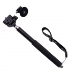 fat cat M-M6 uttrekkbar monopod for gopro / SJ4000 - sort + sølv