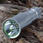 SingFire SF-75B LED 180lm 3-Mode White Flashlight - Silver (1 x 18650)