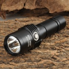 NiteCore EC25W 860LM 8-mode CREE XM-L U2 Cool White LED Flashlight - Black (1 x 18650 / 2 x CR123A)