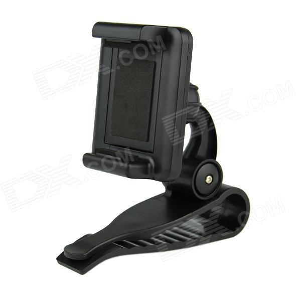 Sun Visor Bracket Car Mount Holder - Black baseus car phone holder black