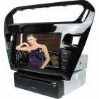 "LsqSTAR 8"" Touch Screen Separate Car DVD Player w/ GPS,AM,FM,RDS,Can bus,AUX for Peugeot 301/ Elysee"