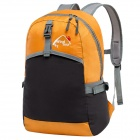WindTour WTZDB1 Convenient Outdoor Folding Chinlon Backpack - Orange + Black (22L)