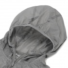 Thefree FB3403 Ultralight Windbreaker for Women - Grey (Size L)