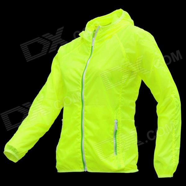 Thefree FB3403 Ultralight Windbreaker for Women - Green (Size L)