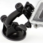 Car Suction Cup Fixing Holder w/ Mount Base for SupTig / GoPro Hero 4/2 / 3 / 3+/SJ4000 - Black