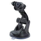 "JUSTONE 1/4"" Double Paste Adsorption Suction Cup + Mount Holder for GoPro Hero 2 / 3 / 3+ - Black"
