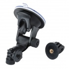 "1/4"" Double Paste Adsorption Suction Cup + Mount Holder for Gopro"