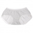 DCGIRL 21631 Polka Dot Pattern Lace Underwear for Women - White