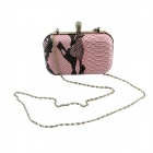 IN-Color Fashion PU Evening Bag Handbag / Chain Bag for Women - Pink