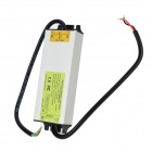 IP67 Waterproof Aluminum Alloy External 72W Constant Current LED Driver - Silver (100~240V)