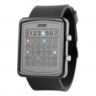 SKMEI 0987 30m Waterproof LED Digital Dial Watch - Black (1 x CR2016)