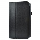 Business 2-Fold Protective PU Leather Case Cover Stand for Lenovo ThinkPad 8 - Black
