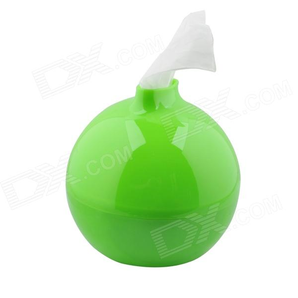 Bomb Style Toilet  Tissue Pot - Green bomb style toilet tissue box orange