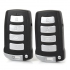 Car Auto Remote Passive Keyless Entry Vehicle PKE Smart Start System - Black + Silver
