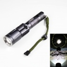KINFIRE K118 Cree XM-L T6 650lm 3-Mode White Zooming Flashlight - Brown (1 x 18650 / 3 x AAA)