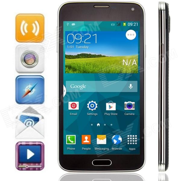 S5 MP-I9600 MTK6572 Android 4.4.2 GSM Bar Phone w/ 5.0