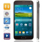 "S5 MP-I9600 MTK6572 Android 4.4.2 GSM Bar Phone w/ 5.0"" IPS, Wi-Fi, GPS - Black"