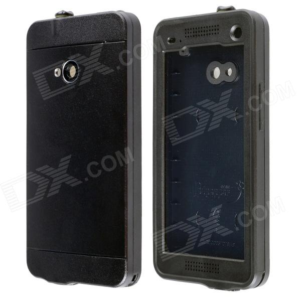 все цены на Redpepper Ultra-Thin Waterproof Snowproof Shockproof Dirtproof Protective Case for HTC One - Black онлайн