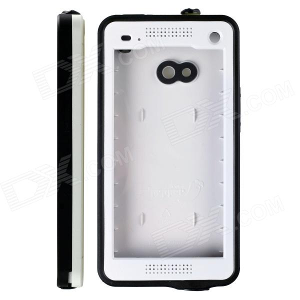 все цены на Redpepper Ultra-Thin Waterproof Snowproof Shockproof Dirtproof Protective Case for HTC One - White онлайн