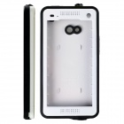 Redpepper Case Ultra-Thin Snowproof Shockproof Dirtproof Protective Case for HTC One - White