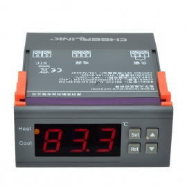 "CHEERLINK MH1210A DC12V 1.7"" Screen Intelligent Temperature Controller"