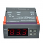 "CHEERLINK MH1210A DC12V 1.7"" Screen Intelligent Digital Temperature Controller - Black"