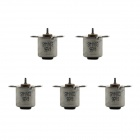 MaiTech 10MM Two-phase Four-wire Stepper Motors - Silver (5 PCS)