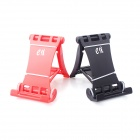 ESER e-J ZJx2 Simple Creative Racing Car Style Support Holders - Black + Red (2 PCS)