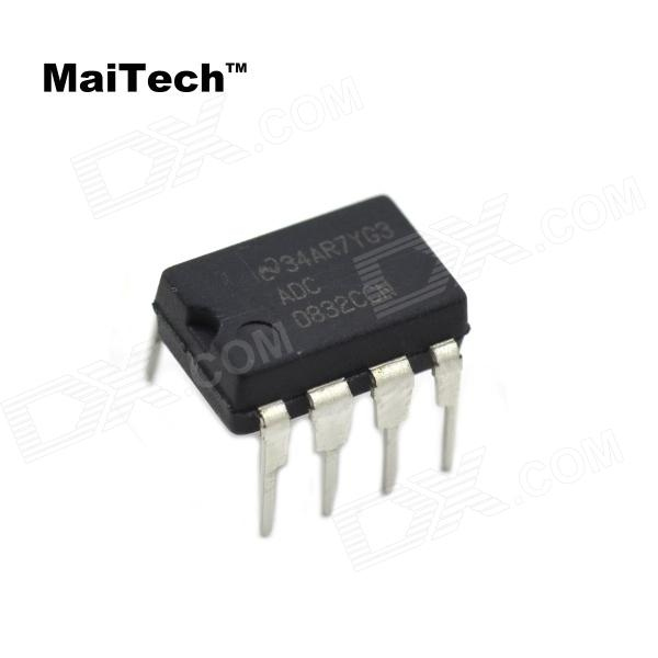 MaiTech 03120315 8-Pin Single-Channel Serial A / D Converter - Black 1pcs used alloys balanced input single ended output isolation transformer assembly