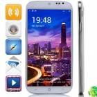 "S1 MTK6582 Quad-Core Android 4.3 WCDMA Bar Phone w/ 5.0"" QHD, 4GB ROM, Wi-Fi, GPS, OTG  - White"