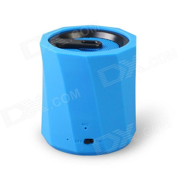 D97B Wireless Bluetooth Speaker Ultra-Portable Stereo Audio w/ 3.5mm Aux-In, TF Card, Mic - Blue original xiaomi mi bluetooth speaker wireless stereo mini portable mp3 player pocket audio support handsfree tf card