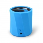 D97B Wireless Bluetooth Speaker Ultra-Portable Stereo Audio w/ 3.5mm Aux-In, TF Card, Mic - Blue