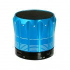 S12 Mini Wireless Bluetooth V2.0 Speaker with TF for IPHONE, IPAD, PC - Blue