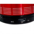 S12 Mini Wireless Bluetooth v2.0 Speaker with TF for IPHONE, IPAD, PC - Red