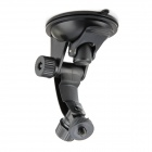 "1/4"" Rotational Suction Cup Car Mount w/ Adhesive Tape for GPS / DV / Camera - Black"