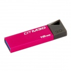 Kingston DTM30 USB 3.0 Flash Drive - Deep Roze + Grijs (16GB)