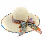 European And American Fashion Straw Hat for Women - Beige