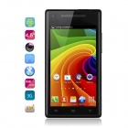 "Catee CT200 MTK6572 Dual-Core Android 4.2 WCDMA Bar Phone w/ 4.5"" IPS, 5.0 MP, GPS, 4GB ROM - Black"