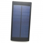 "Universal Dual-USB ""20000mAh"" Solar Energy Power Source Bank - Black + White"