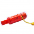 Acecamp 3338 Outdoor Camping Multifunction Whistle / Flint / Capsule / Compass /Signal Mirror (12cm)