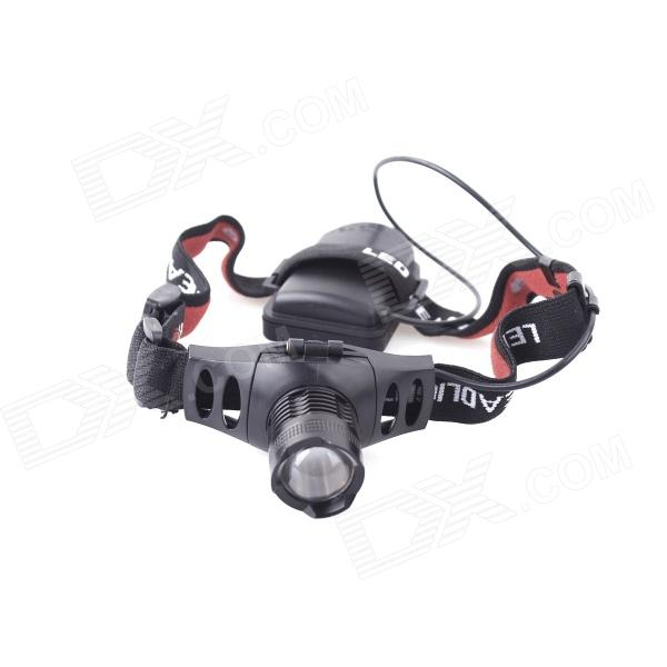 YP-3902 LED 250lm 3-Mode White Headlamp - Black (3 x AAA)