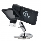 "UM039 HD 5.0MP 3.0"" LCD Digital Microscope w/ Holder - Black"