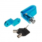 FIDLOC Bicycle Disc Brake Lock Set - Blue