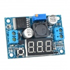 SJ-DC035-DASD Digital Display Adjustable Step-down Voltage Regulator Module - Blue + Black + Silver