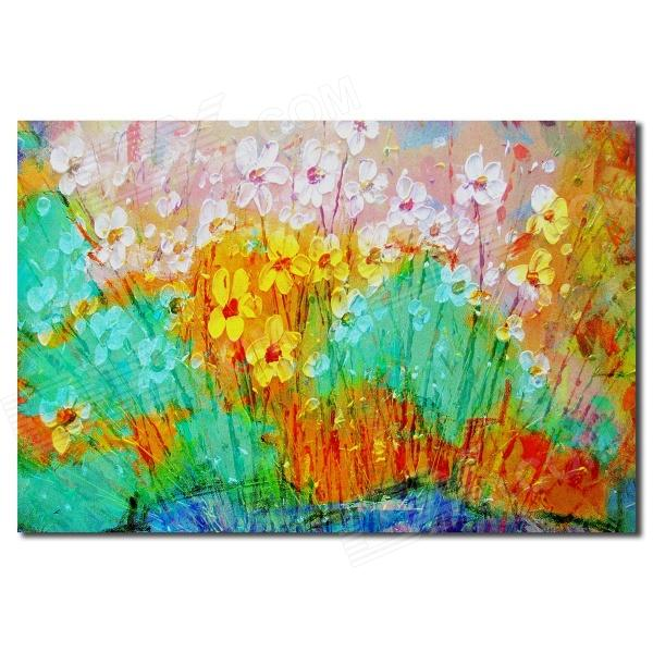 Iarts DX0415-08 Spring Flower Season Hand Painted Oil Painting