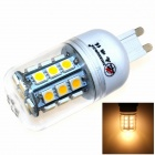 ZHISHUNJIA G9 6W 540lm 3000K 27 x SMD 5050 LED Warm White Light - White + Transparent (85~265V)